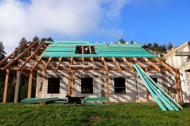 Więźba dachowa, drewno konstrukcyjne IMPREGNOWANE -PRODUCENT