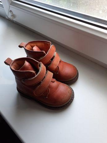 Демисезонные ботинки КОЖА, стелька 13 см