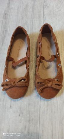 Туфельки Zara замшевые