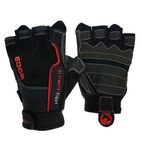 Nowe Rękawiczki do ćwiczeń Rękawice na siłownię fitness roz. L EDGE