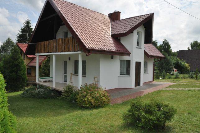 Dom nad jeziorem w miejscowości Dąbrówno, Mazury