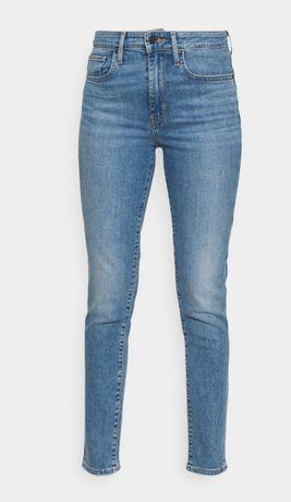 Spodnie jeansy jeans damskie Levis Levi's 721 nowe bez metki 28