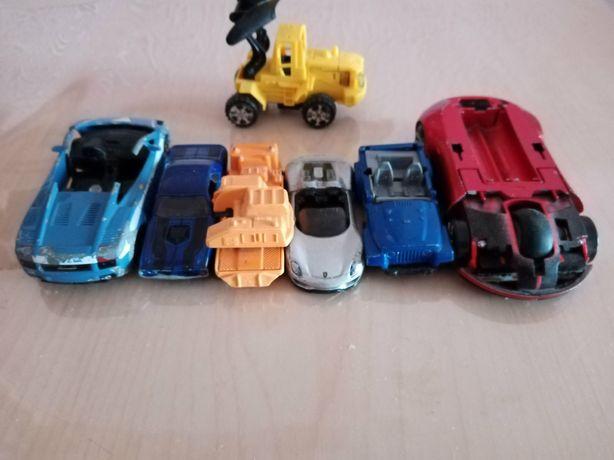 Набор железных машин, машинки, модель, модельки Цена за все 60гр