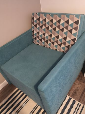 Fotel jednoosobowy rozkładany