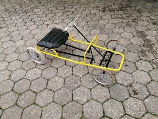 carrinho pedais antigo