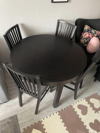 Stół + krzesła Ikea