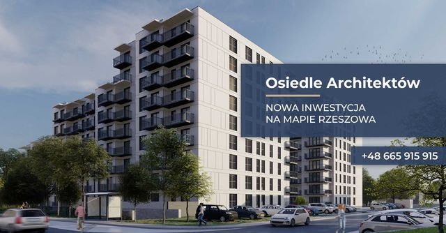 Nowość !!!  Nowa Inwestycja OSIEDLE ARCHITEKTÓW