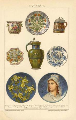 KULTURA - SZTUKA II oryginalne XIX w. grafiki do wystroju wnętrz