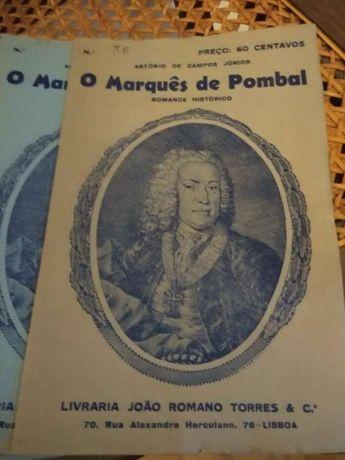 Folhetins Romance Histórico O Marquês do Pombal