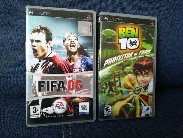 Ben 10 i fifa 06 na PSP