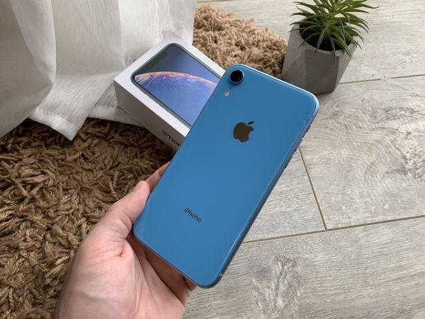 iPhone Xr 64gb Blue Гарантия Rsim #773