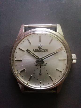Relógio de pulso usado corda manual de 24 h