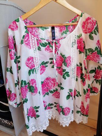 Koszula letnia w kwiaty