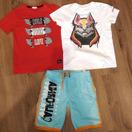 Пакет Футболка Fortnite, шорты плавки, футболка на мальчика