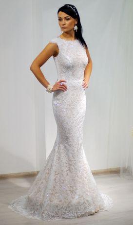 Suknia ślubna powystawowa ARETA r.38 produkt polski