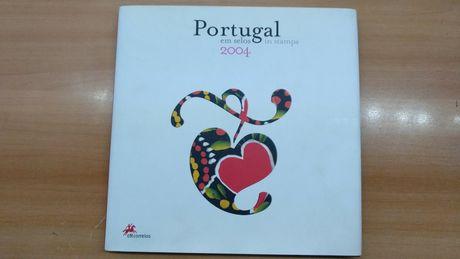 Portugal em Selos 2004 - Livro CTT com Selos e Blocos