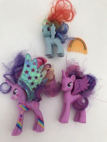 3 pony - My little Pony (preço dos 3)