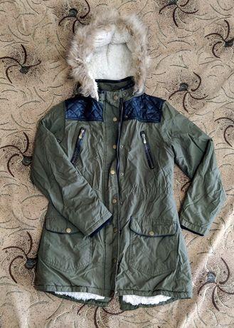 Куртка парка зимняя для девочки