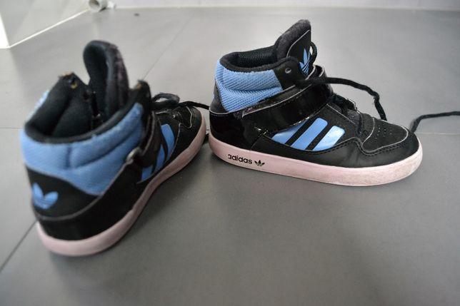 buty chłopięce adidas 26,5 za kostke na jesien