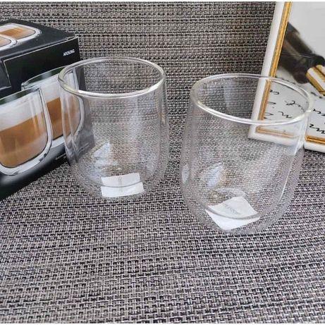 Склянки з подвійними стінками