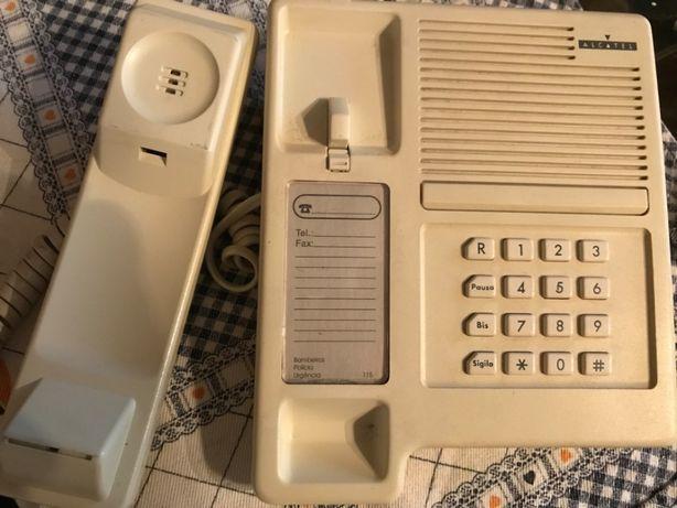 Telefone fixo de teclas Alcatel