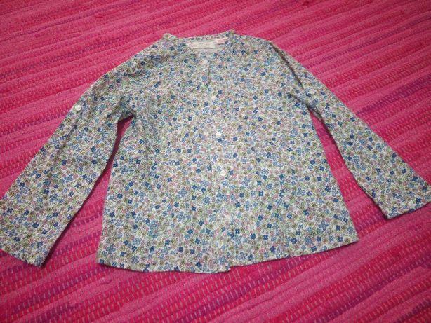 Camisa flores menina