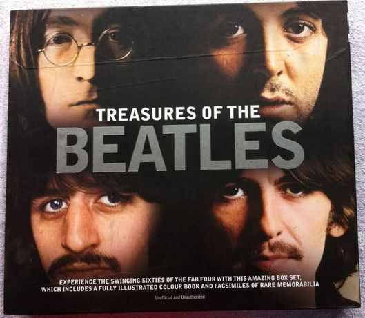Livro Treasures of the BEATLES