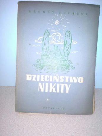 Książka-Dzieciństwo Nikity