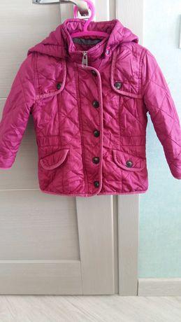 Демисезонная курточка девочки фирмы НМ на 2-3 года 98 см