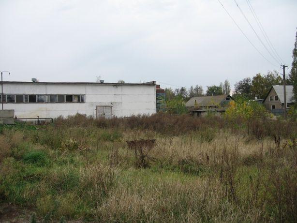 Промышленный участок земли в г.Мена с помещениями под производство.