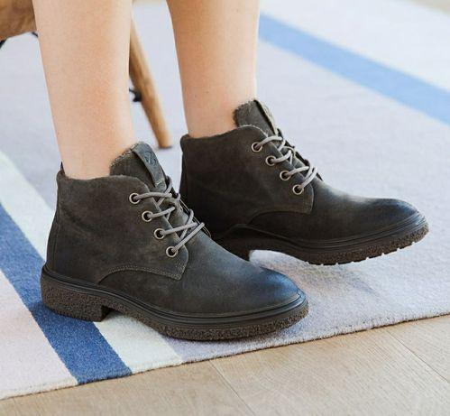 Ботинки полуботинки черевики Ecco Crepetray оригинал  39, 40р