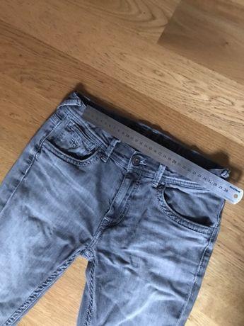 Spodnie pepe jeans szare