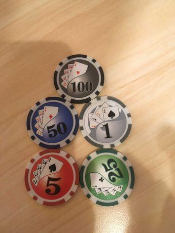 Фишки для покера (500 штук)