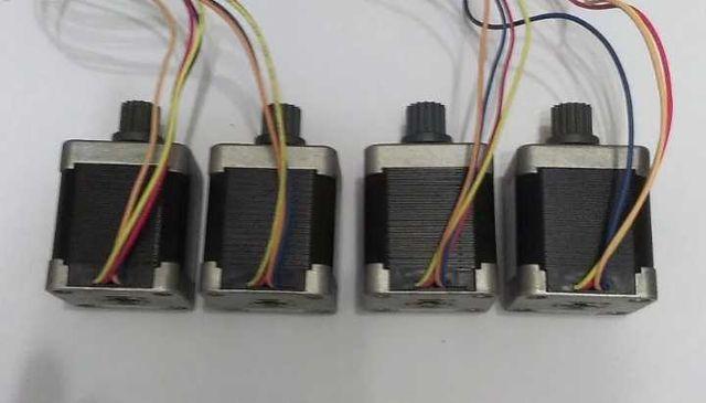 Шаговый двигатель Nema17 для чпу