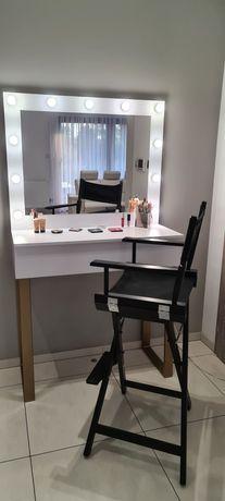 toaletka z lustrem, stanowisko wizażowe wysokie
