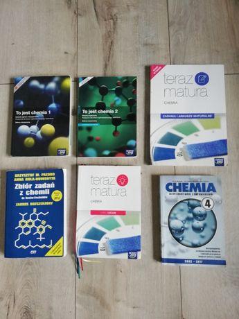 Podręcznik, książka Chemia, zbiór zadań matura.