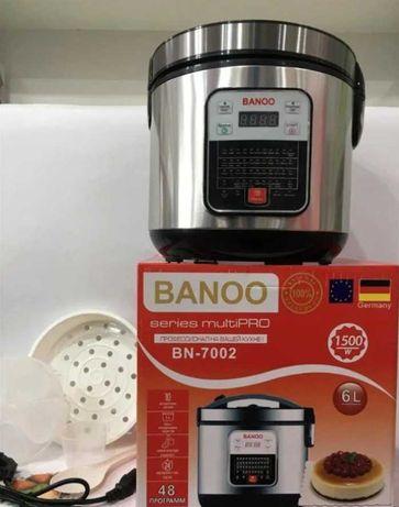 Профессиональная мультиварка Banoo 6л  48 программ скороварка
