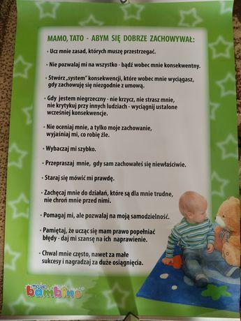Apel do rodziców, plakat - Moje bambino
