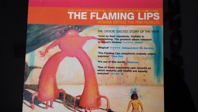 the flaming lips/ yoshimi battles the pink robots