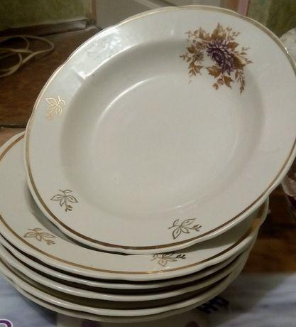 Суповые тарелки СССР