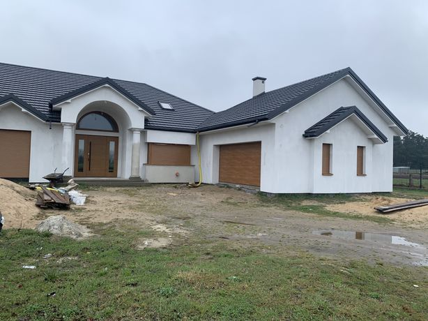 Dom parterowy 285m2 Mokobody stan deweloperski