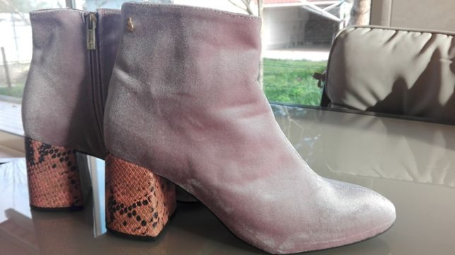 Botas friendlyfire rosa pastel