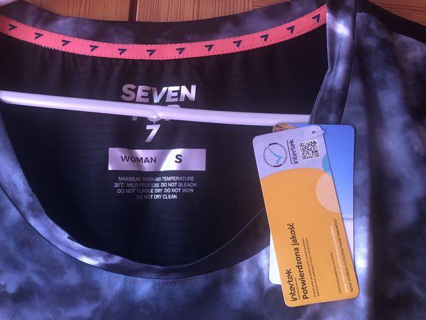 Nowa damska koszulka sportowa Seven for 7 rozmiar S