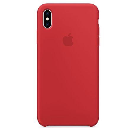 Etui, case na iPhone X/XS red apple