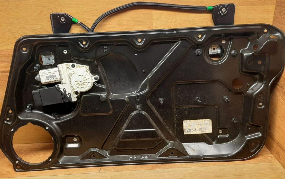 Mechanizm podnośnik szyby prawy przedni Volkswagen New Beetle Sieraków - image 1