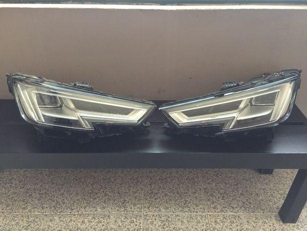 Faróis Audi A4 2017 Full Led