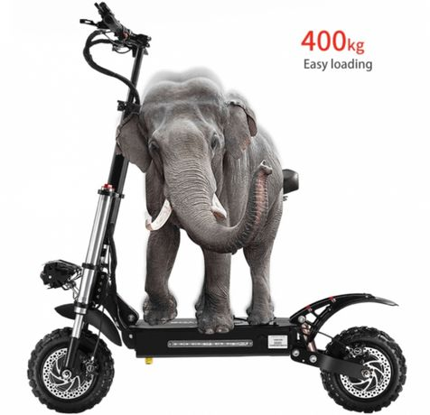 Електричний скутер 2х2 BOYUEDA 28.6AH 60V для дорослих!