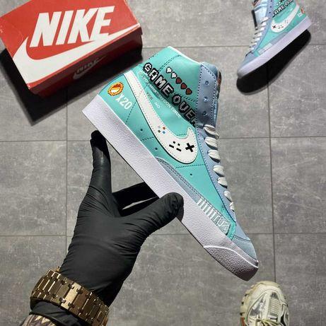 Стильные, оригинальные женские кроссовки Nike Blazer Mid '77/найк
