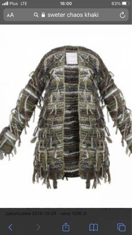 Sweter chaos marta boliglova khaki