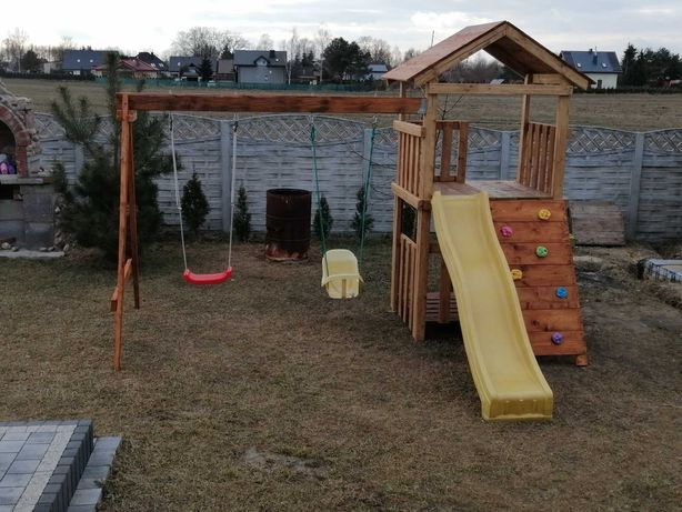 Domek-plac zabaw dla dzieci